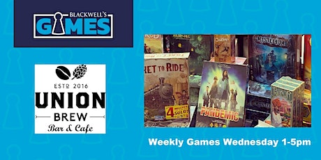 Blackwell's Games-Weekly Games Wednesday tickets
