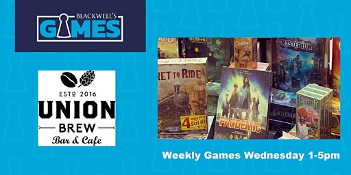 Blackwell's Games-Weekly Games Wednesday