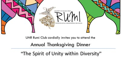 "Annual Thanksgiving Dinner ""The Spirit of Unity within Diversity"""
