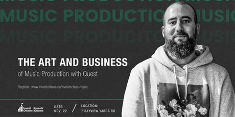 Masterclass: The Art and Business of Music Production tickets