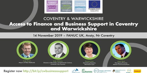 Access to Finance and Business Support in Coventry and Warwickshire