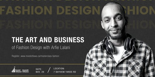 Masterclass: The Art and Business of Fashion Design