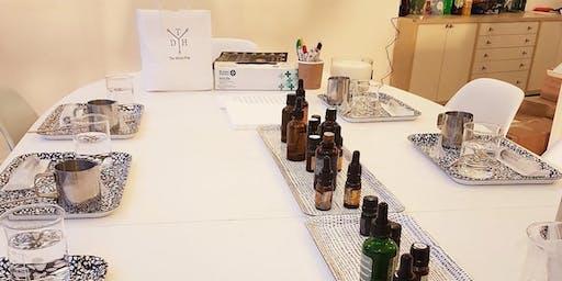 Christmas aromatherapy perfume class