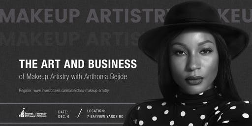 SOLD OUT: Masterclass: The Art and Business of Makeup Artistry