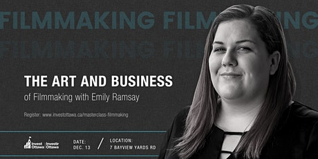 Masterclass: The Art and Business of Filmmaking tickets