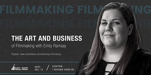 Masterclass: The Art and Business of Filmmaking