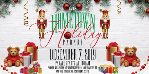 47th Annual Hometown Holiday Parade - DeSoto - FREE