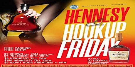 Hennessy & Hookup Fridays @H2O tickets