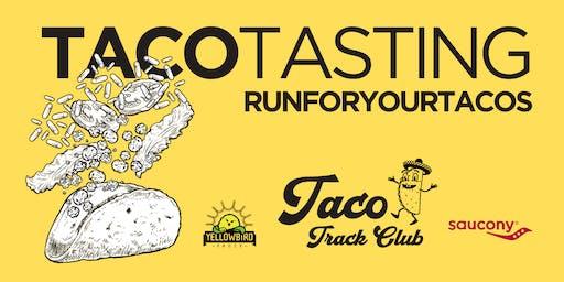 Taco Tasting - Taco Track Club, Saucony, Yellowbird Sauce