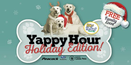 Yappy Hour - Holiday Edition tickets