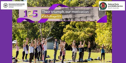 Yoga In Park: 125th Celebration of Women's Suffrage - Pink Gum Campground