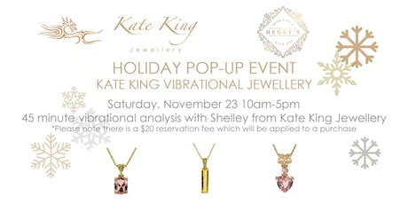 Holiday Pop-Up with Kate King Jewellery tickets