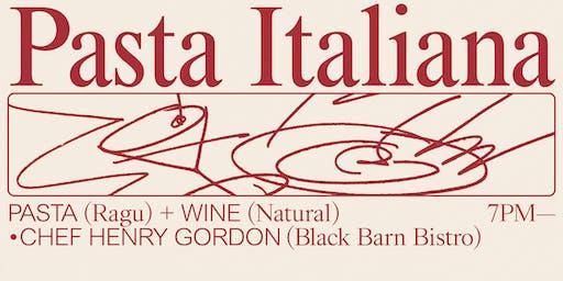 Pasta Italiana at Annabel's Wine Bar