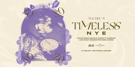 TIMELESS NYE AT THE BUCK & EAR tickets