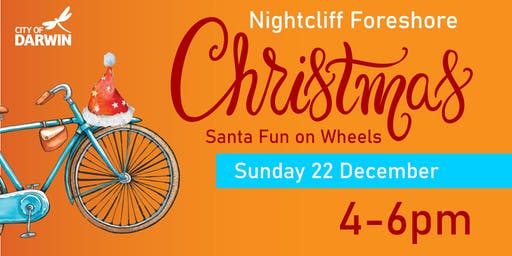 Santa Fun on Wheels  Nightcliff Foreshore