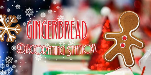 Kids Gingerbread Decorating Station