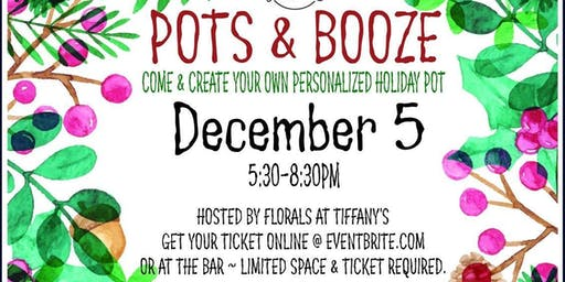 Pots and Booze at Pounders Bar