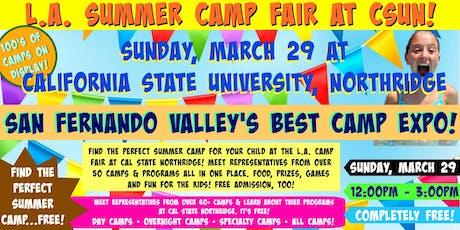 L.A. Summer Camp Fair at Cal State Northridge tickets
