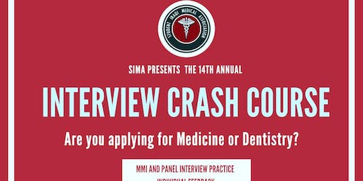 SIMA ANNUAL *INTERVIEW CRASH COURSE* 2019
