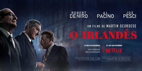 O Irlandês - Cinemas Teresina- Teresina-  Domingo (24/11) ingressos