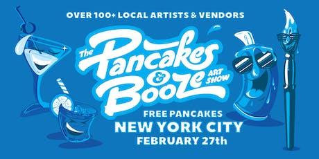 The New York City Pancakes & Booze Art Show  tickets
