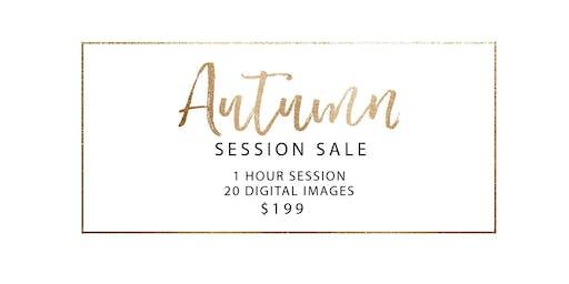Autumn Session SALE!