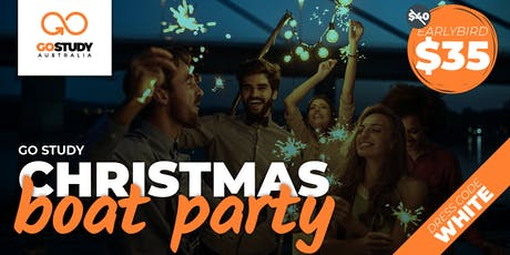 GO STUDY Christmas Boat Party tickets