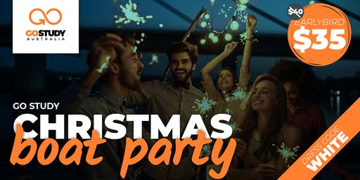 GO STUDY Christmas Boat Party