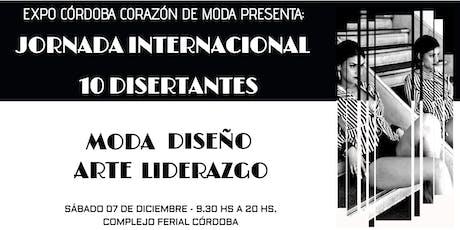 JORNADA INTERNACIONAL DE MODA, ARTE, DISEÑO Y LIDERAZGO entradas