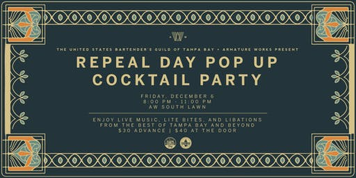 Repeal Day Pop Up Cocktail Party