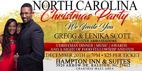 TLC NC Christmas Party 2019 tickets