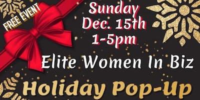 Elite Women in Biz Holiday Pop up Shop Extravaganza