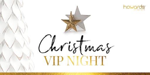Howards Richmond Christmas 2019 VIP Night