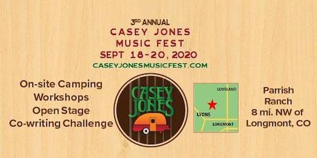 Casey Jones Music Fest 2020 tickets