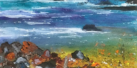 Adding Texture to Watercolour with Caroline Furlong tickets
