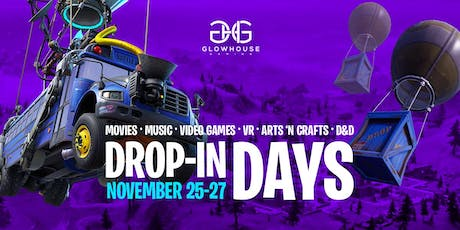 Fortnite Drop-In Days tickets