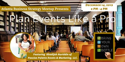 Learn How To Plan Events Like A Pro