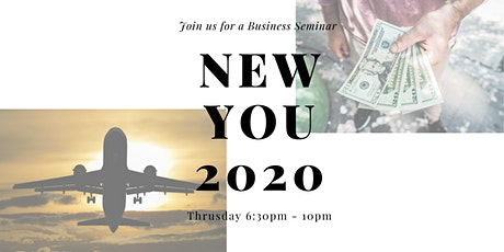 Entherpenership Seminar: Reinvent a NEW YOU for 2020! tickets
