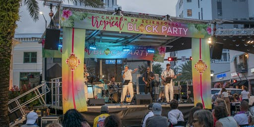 Live concert by local and national artists at the Downtown Bock Party