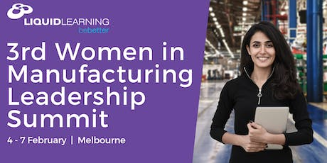 3rd Women in Manufacturing Leadership Summit tickets