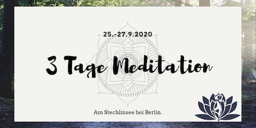 3 Tage Meditation - September 2020