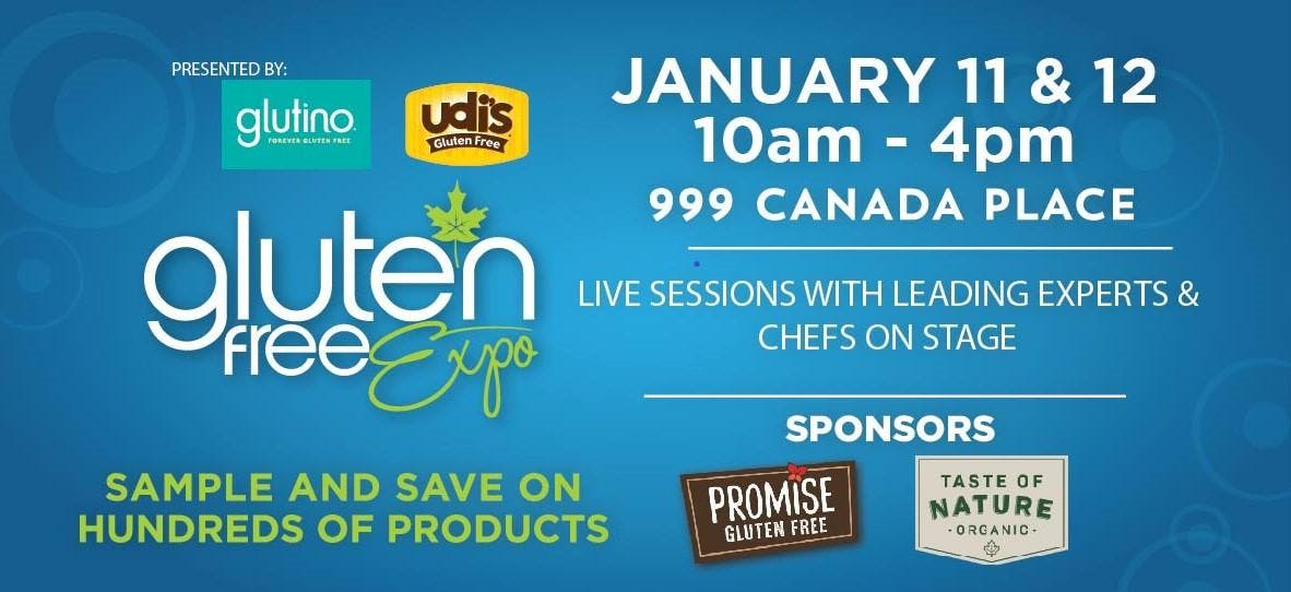 Canadas Largest Gluten Free Event Visits Vancouver January 11-12 2020
