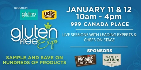Canada's Largest Gluten Free Event Visits Vancouver, January 11-12, 2020! tickets