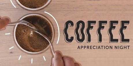 Coffee Appreciation Night and Public Cupping tickets