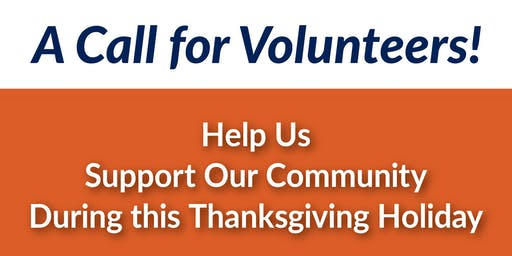 Thanksgiving Week Volunteer Opportunity at Youens Elementary