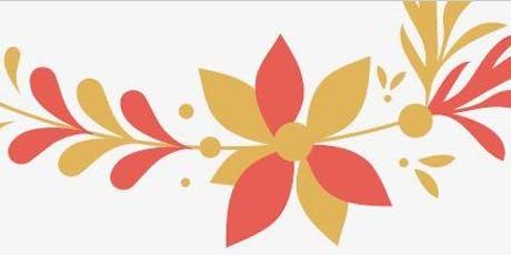 Festive paper flower arrangements - Christmas craft workshops @ Noarlunga tickets