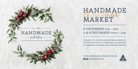 Handmade Australia Christmas Market tickets