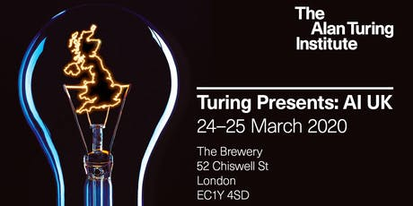 Turing presents AI UK tickets
