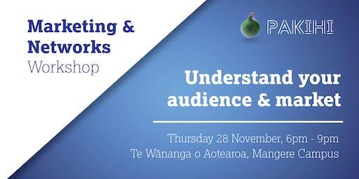 Pakihi Workshop: Marketing & Networks - Mangere