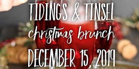 Tidings & Tinsel Christmas Brunch tickets